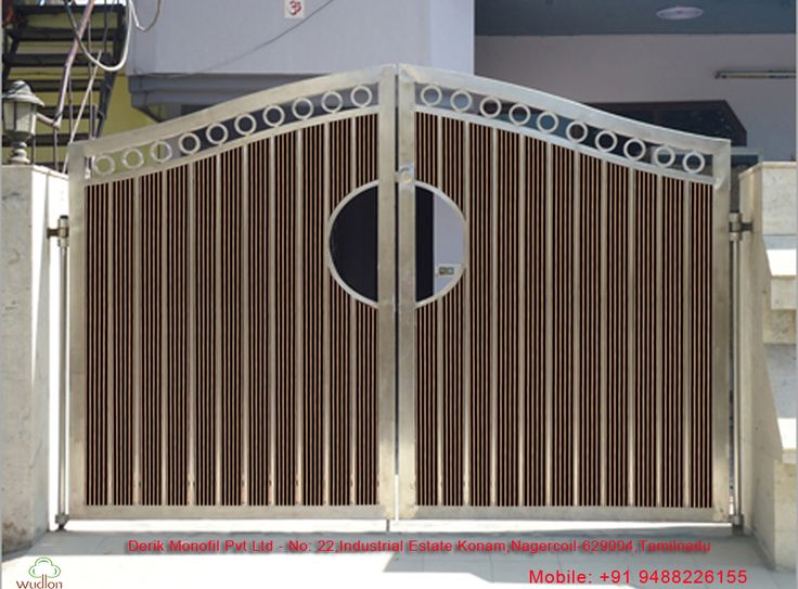 Wood Plastic Composite Gates and outdoors