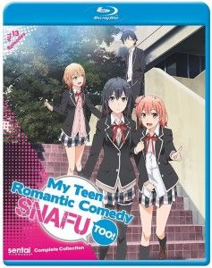 My Teen Romantic Comedy SNAFU TOO! Complete Collection Blu-ray Anime Review