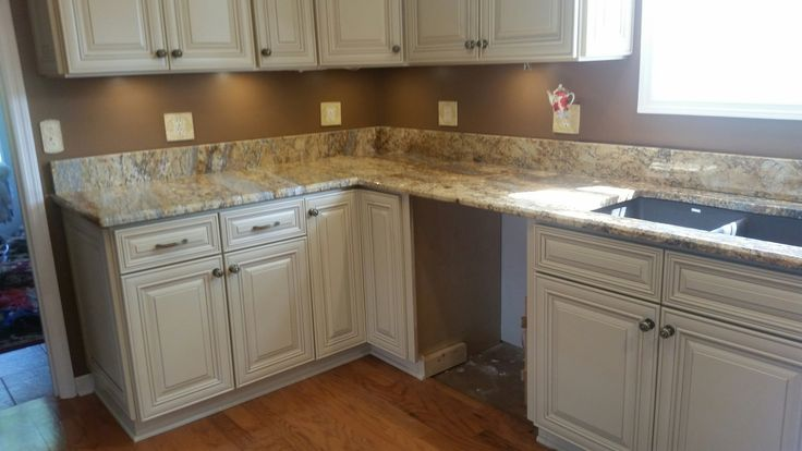 Golden River Granite Kitchen Countertop Install For The Cardwell Family Knoxville 39 S Stone