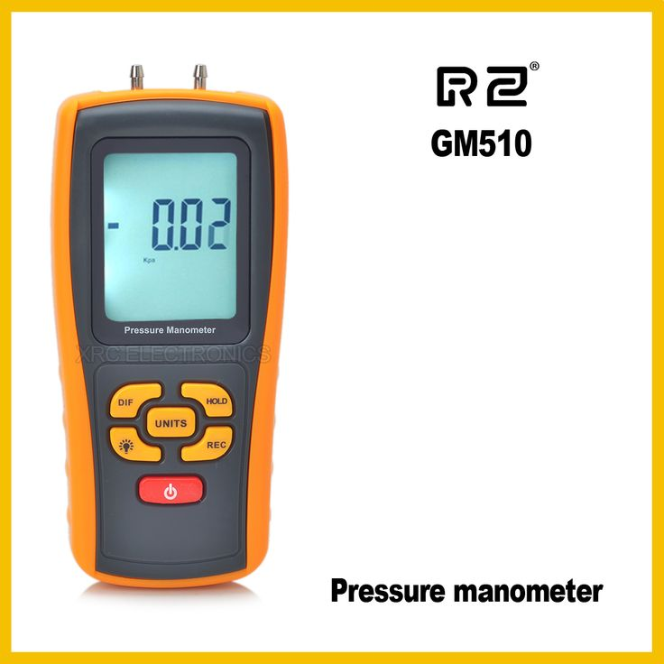 GM510 Pressure Manometer USB interface and Low battery indicator function #Affiliate