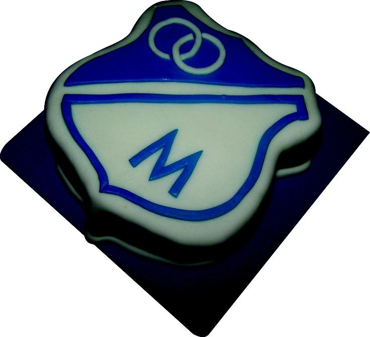Escudo Millonarios Cake