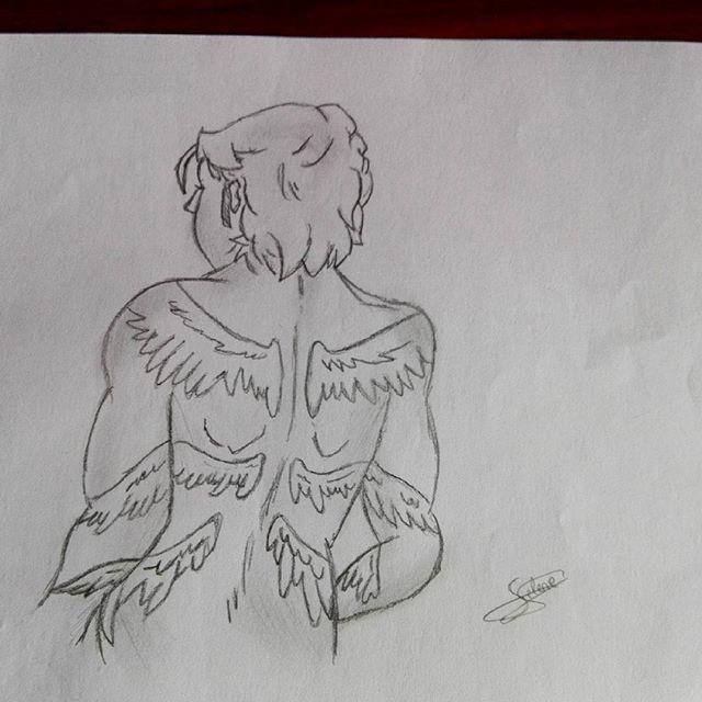 ✏ Gabriel. #supernatural #gabriel #spn #drawing #sketch #pencil #richardspeightjr #artwork