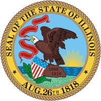 Illinois state seal - click to see all state seals