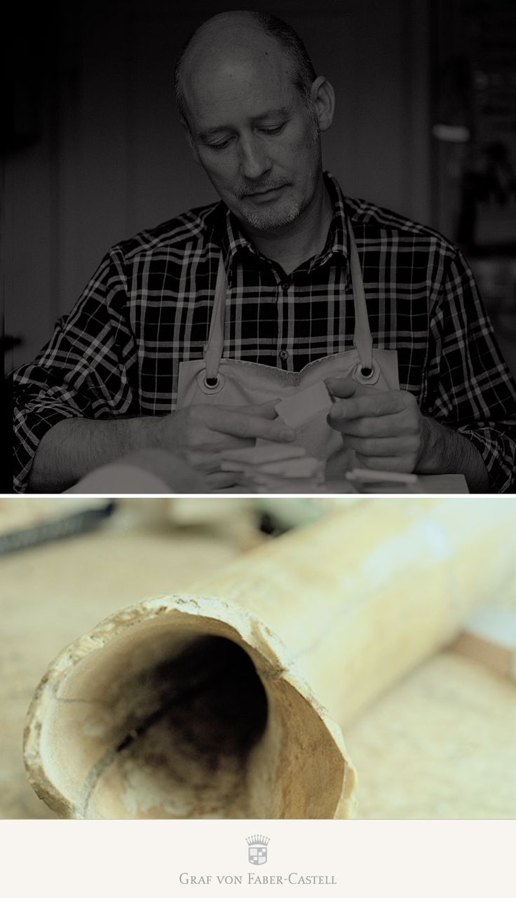 Mammoth ivory is no ordinary ivory. The material has absorbed moisture during the millennia it was buried in the ice, and needs to be slowly and carefully dried out over a period of three to five years. Only then can one cautiously cut, grind, turn, and polish it. This takes special skills, and hardly anyone is better suited to the task than Jürgen Schott. As grand master of the guild of ivory, he is familiar with the tradition that has produced many works of art over the past 200 years.