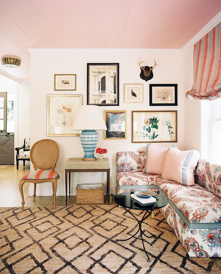 122 best Blush, Coral & Mulberry Interiors images on Pinterest ...