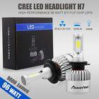 96W 9600LM H7 CREE LED Lamp Headlight Kit Car Beam Bulbs 6000k White 12V Upgrade