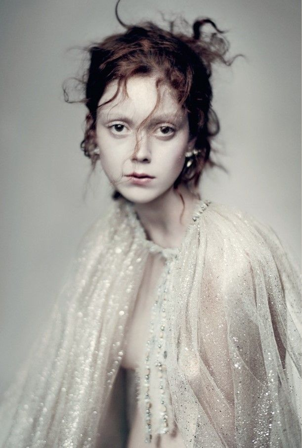 Vogue Italia March 2016 - Natalie Westling - Paolo Roversi #aftermorningcoffee // haunting portrait