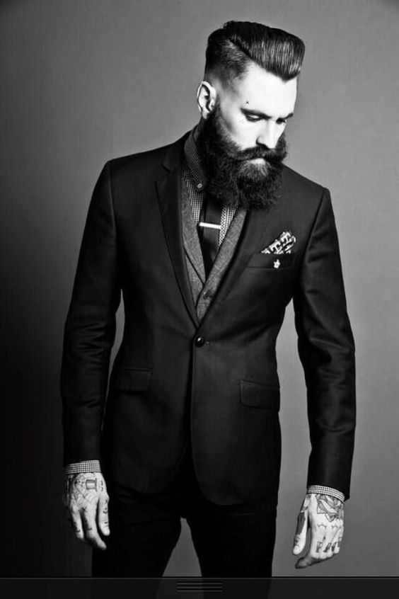 Ricki Hall In Suit Fashion Photography: