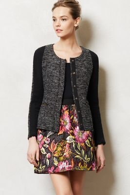 Glimmered Tweed Jacket // Anthropologie