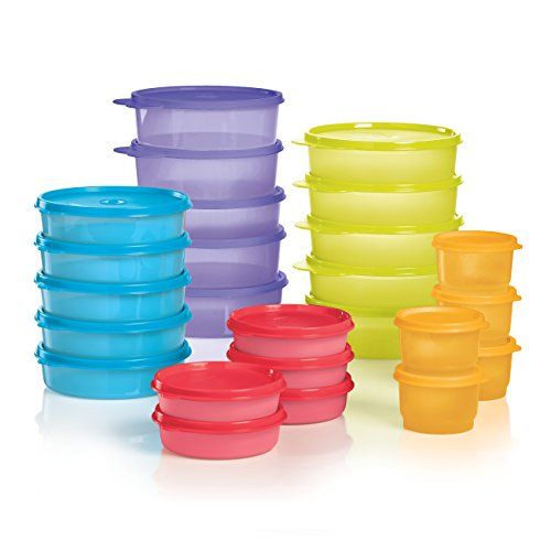 Portion control containers! These make clean and healthy eating easy! Lifetime warranty. Liquid and air tight. Madelaine.my.tupperware.com