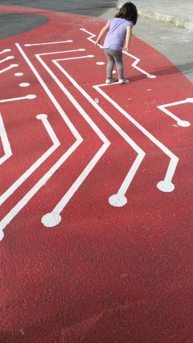 Sencillos circuitos para reseguir, jugar y recrear