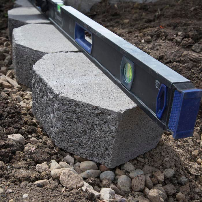 How To Build A Retaining Wall Diy Retaining Wall Building A Retaining Wall Retaining Wall