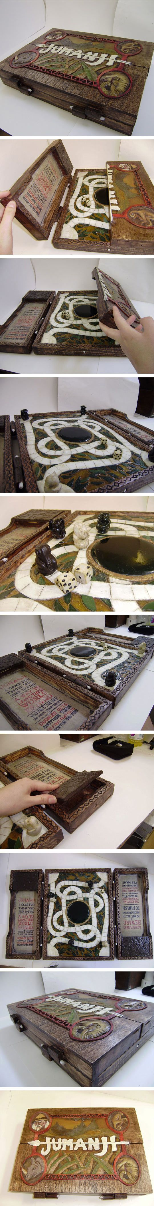 Handmade Jumanji Game Box