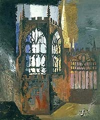 Coventry Cathedral by John Piper