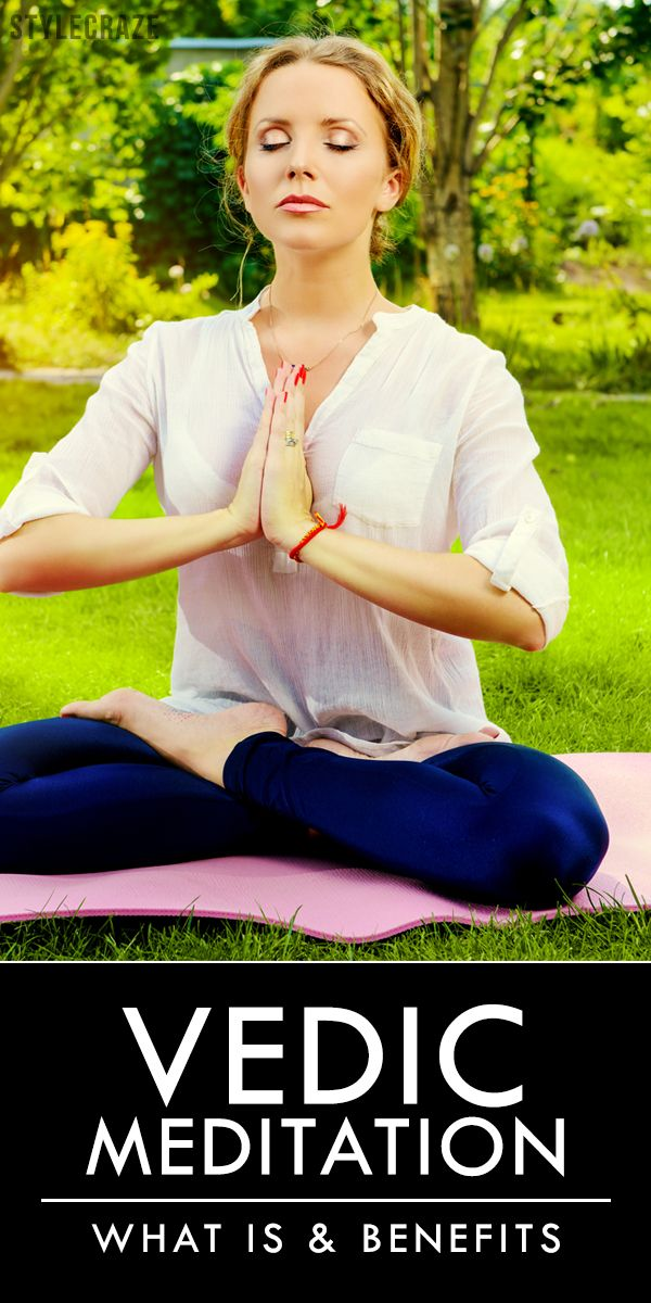 Have you ever come across Vedic meditation? If you haven't, then it's high time you did, because the benefits this type of meditation offers are amazing.