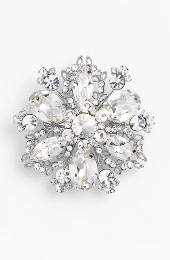 Love this brooch! Nina 'Treasure Floral' Crystal Brooch | Nordstrom