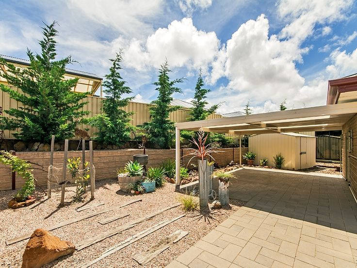 #Backyard of #Home in Seaford Meadows. Call Kevin J. Barry from the #Professionals #Christies #Beach, #RealEstate agency - 08 8382 3773. #Garden #Patio
