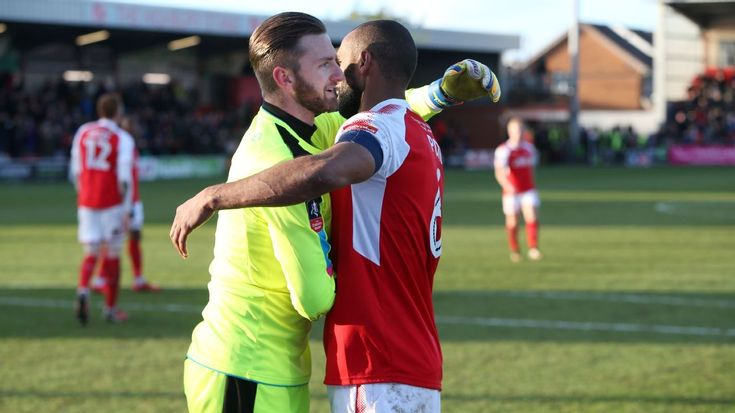 Fleetwood Town goalie earns year of free pizza for FA Cup clean sheet