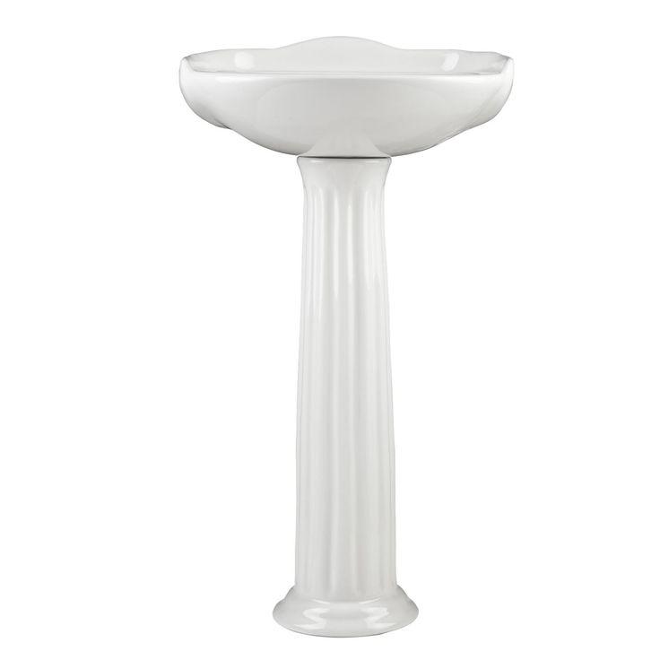 ... Pedestal Sink Bathroom on Pinterest Basin Taps, Pedestal Sink and
