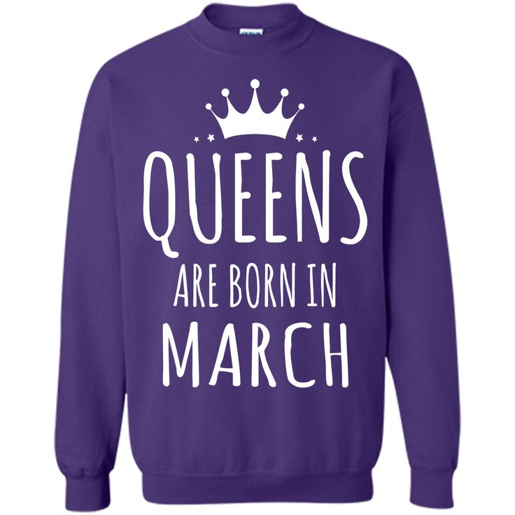 QUEENS ARE BORN IN MARCH Women T-Shirt