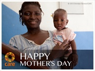 This Mother's Day, join CARE on our mission to help all mothers and children survive and thrive!