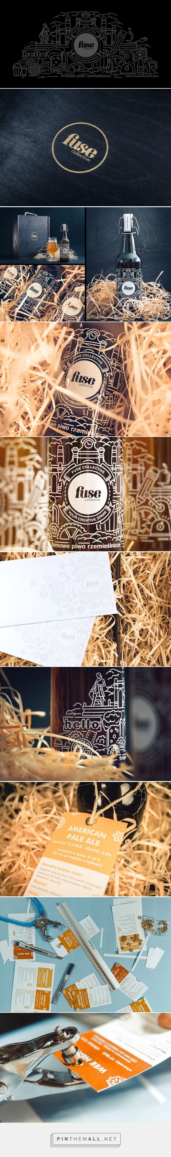 Fuse Collective Craft Beer Gift (Poland) - http://www.packagingoftheworld.com/2016/03/craft-beer-christmas-gift.html