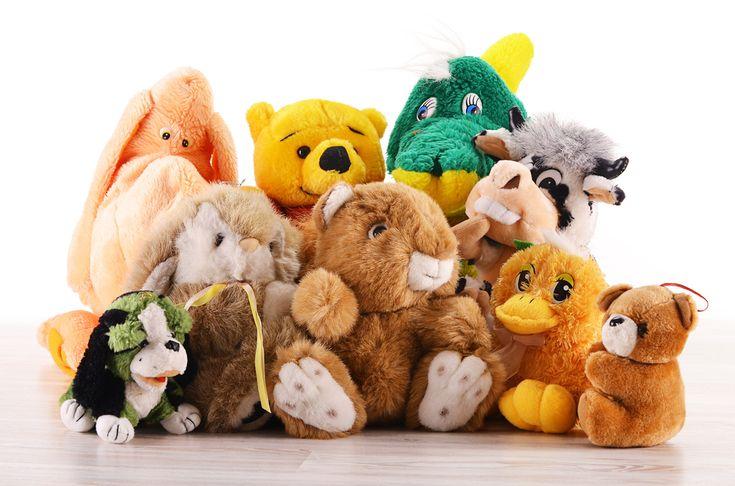 Every kids loves a stuffed animal