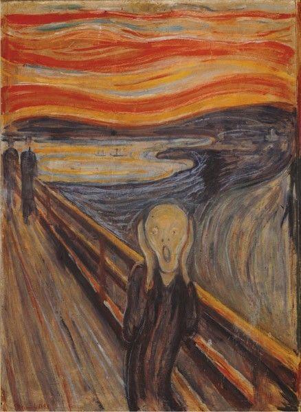 Puzzle 1.000 Teile - Munch: Der Schrei von Perre Group