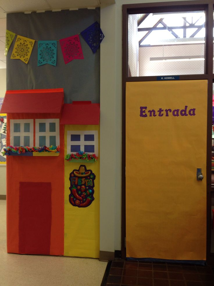 Spanish Classroom Door Decorations ~ Ideas about spanish classroom door on pinterest