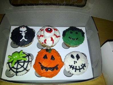 Magic Touch Parties - Product - Halloween Cupcakes