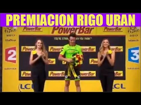 Rigoberto Uran Feliz Huevon en la Premiacion Gana 9 Etapa Tour 2017 - VER VÍDEO -> http://quehubocolombia.com/rigoberto-uran-feliz-huevon-en-la-premiacion-gana-9-etapa-tour-2017   	 Rigoberto Uran Feliz Huevon en la Premiacion Gana 9 Etapa Tour 2017	 Créditos de vídeo a Popular on YouTube – Colombia YouTube channel