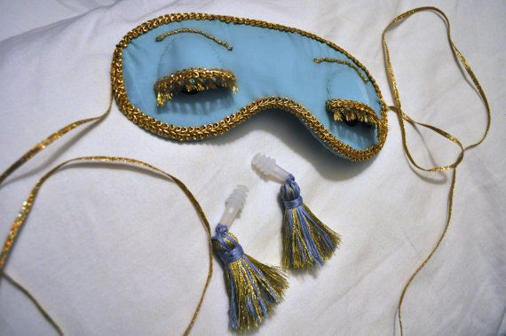 Breakfast at Tiffany's Sleep Like Holly Golightly Duo - Mask & Tassel Ear Plugs $49.95