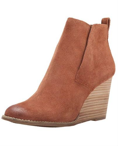 Lucky Womens Yoniana Bootie