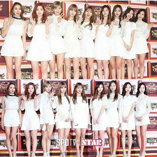 Twice at KBS Gayo Daechukje 2016 #twice #twicejyp #once #gayodaechukje #nayeon #jungyeon #momo #sana #jihyo #mina #dahyun #chaeyoung #tzuyu