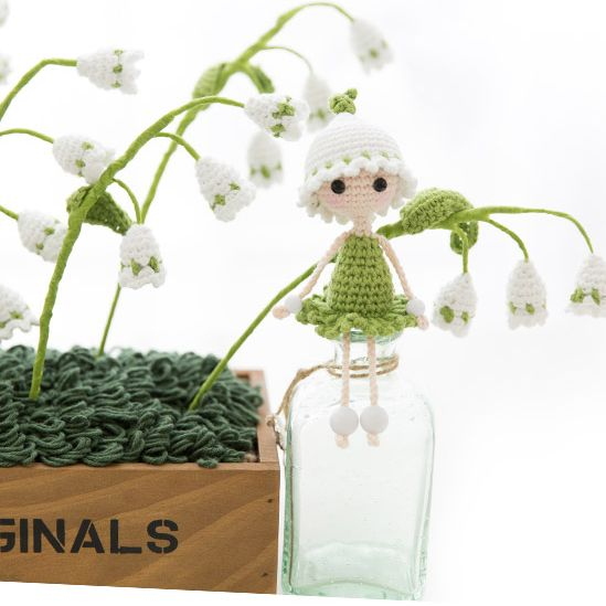 Amigurumi - Doll Collection - Tiên hoa 3 - Free Pattern