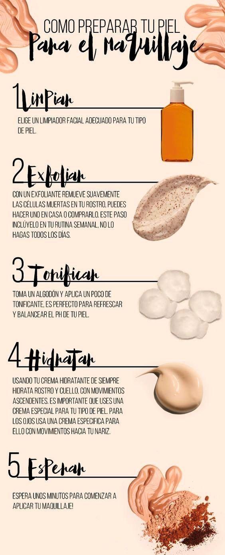¡Te mostramos cómo preparar la piel para un maquillaje perfecto!  SUPERSALON #ProfesionalesEnBelleza