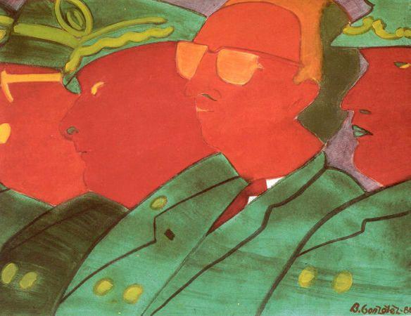Beatriz González, Los papagayos, 1986–87