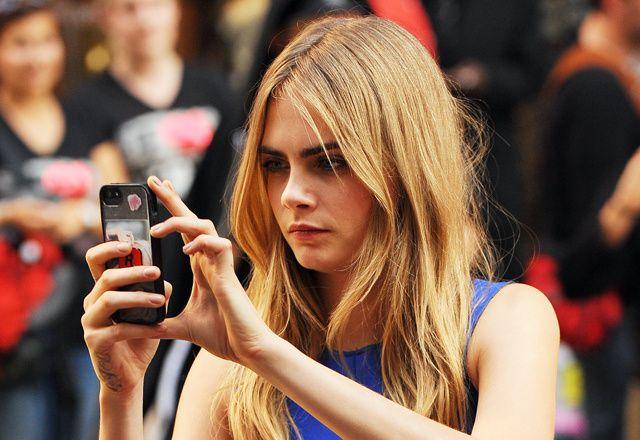 Cara Delevingne dévoile ses applis préférées sur iPhone et iPad