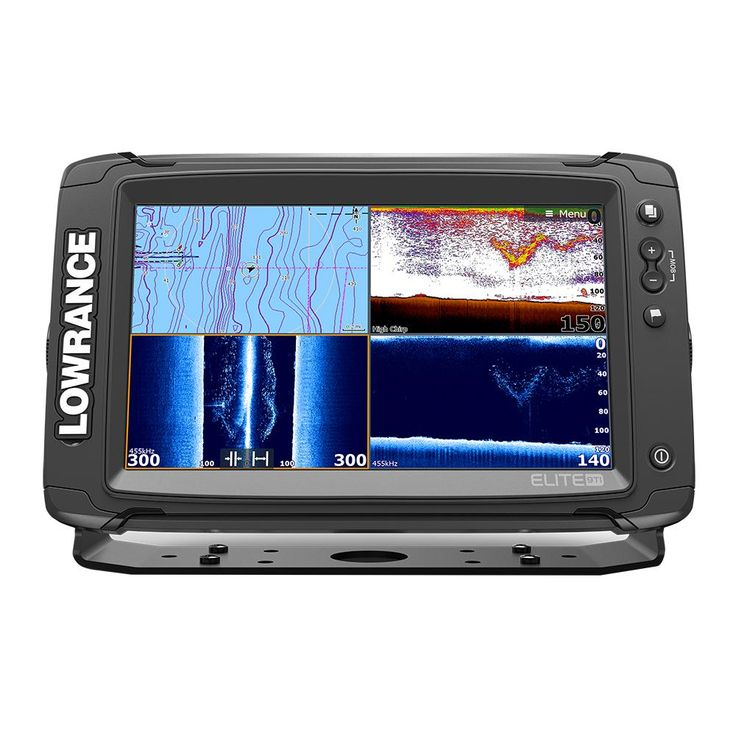 Lowrance Elite9 Ti Combo with MedHighDownScan HDI