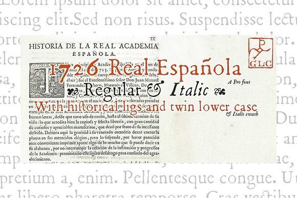 1726 Real Espanola Family OTF by GLC Foundry on Creative Market