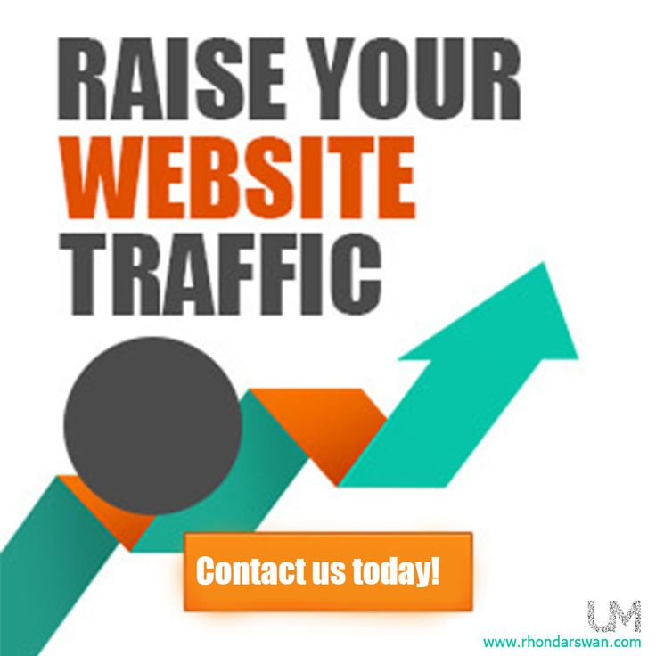 Raise your website traffic. Contact us today at www.rhondarswan.com #BeUnstoppable #mediaandthecity #brandit #UnstoppableMomma #Entrepreneur #PersonalBranding #SocialMediaStrategist #HowToPersonallyBrandYou #HowToBecomeAnAuthorityInYourNiche #OnlineMarketingStrategiesForNewbies #PersonalBrandingStrategy
