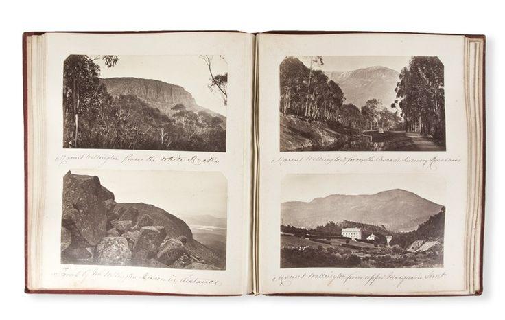 [PHOTOGRAPH ALBUM] Tasmanian scenes. S. Clifford Photographer.   Douglas Stewart Fine Books