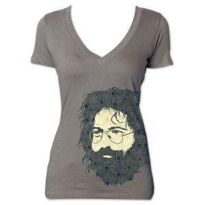 Jerry Garcia Henna Women's T-Shirt YES PLEASE!