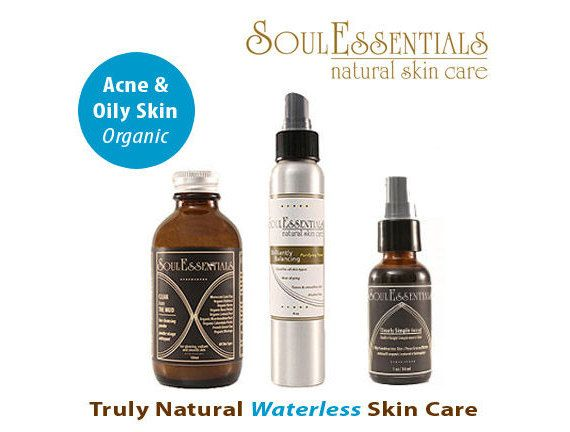 Organic Skincare for Acne and Oily Skin by SoulEssentialsSkin