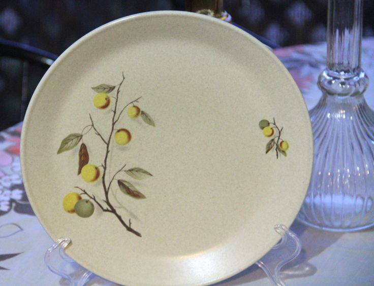 Vintage 1970's Johnson Of Australia Cake Or Dinner Plate by VintageCollateral on Etsy