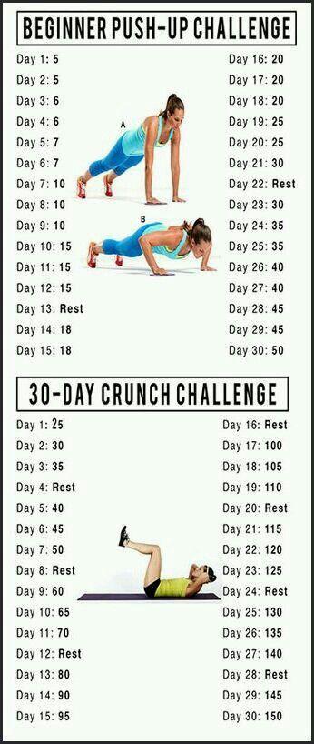30-day Push-up/Crunch Challenge