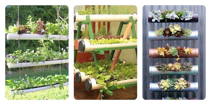Huerta vertical hecha con botellas buscar con google huerto pinterest ideas - Pequeno huerto en casa ...