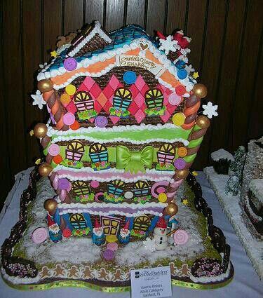 Cakes n candy n more! Ummmmmmmm.