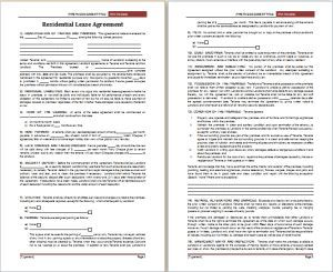 residential lease agreement template at freeagreementtemplates.com