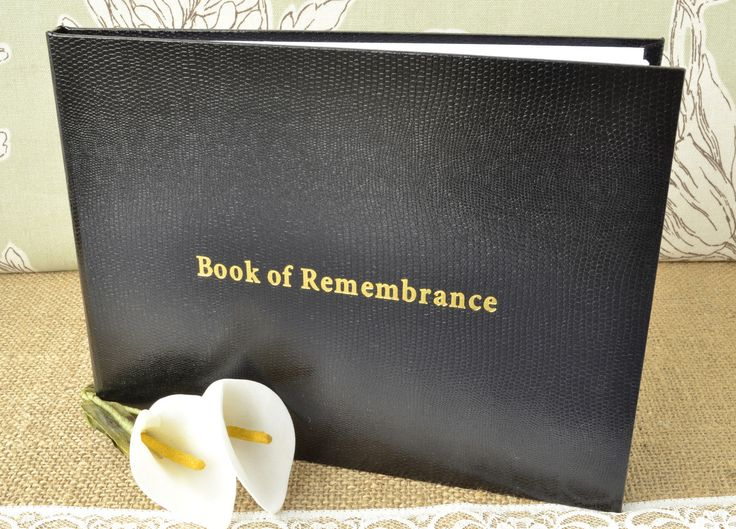 A remembrance book can either be online or can be created in agreement with your requirements. You can even make it at home. Just a way to remember your loved one, the book of remembrance is a compilation of memoirs, pictures and writing from friends and family. You can get custom-made stationary and create your own book of remembrance.